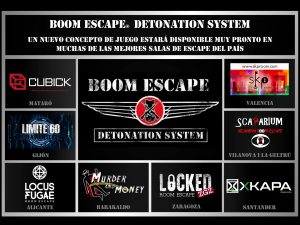 Salas donde está disponible Boom Escape