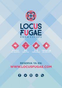 Que hacer en Alicante. Flyer Locus Fugae