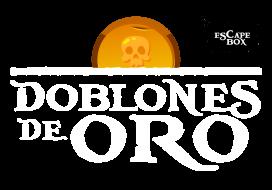 Logo Doblones de Oro Escape Box Alicante