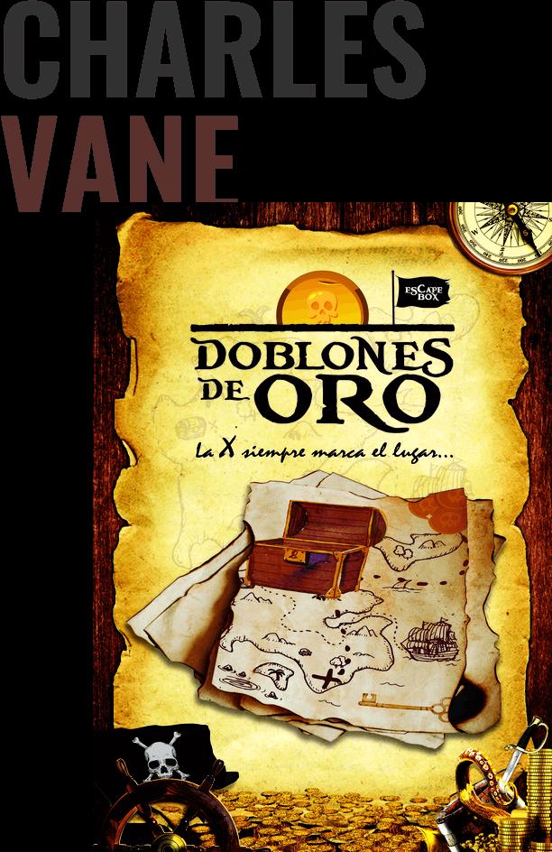 Doblones de Oro Escape Box